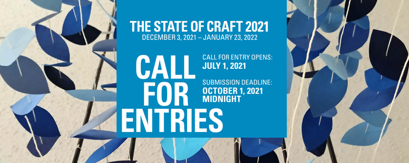 Call for the State of Craft 2021
